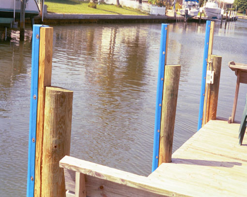 Tideslide mooring products piling fenders for Dock pilings cost