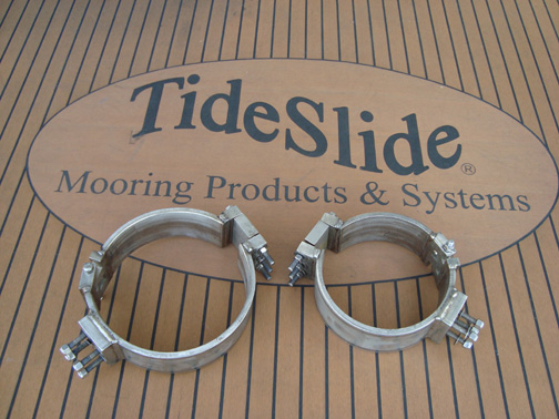 Tideslide Mooring Products Pile Extension Bracket 1 989
