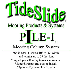 Pile I Mooring Column By Tideslide Mooring Systems